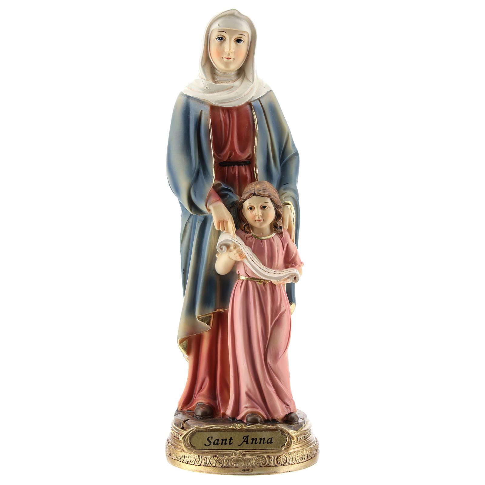 San Giorgio uccide il drago statua resina 20 cm 4