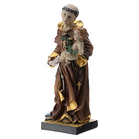 Statue St. Anthony 20 cm resin s3