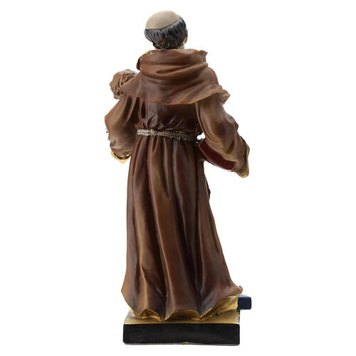 Statue St. Anthony 20 cm resin 5