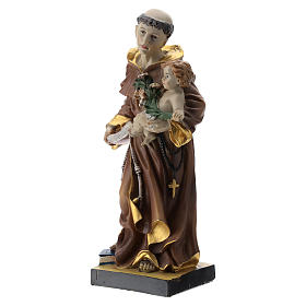 Estatua San Antonio 20 cm resina s3