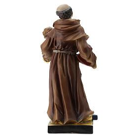Statue St Antoine 20 cm résine s5