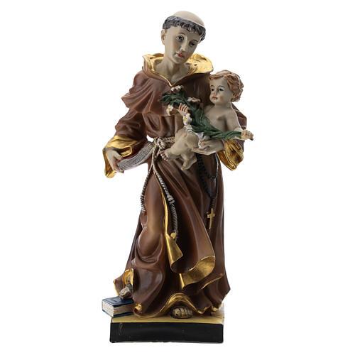 Statue St Antoine 20 cm résine 1