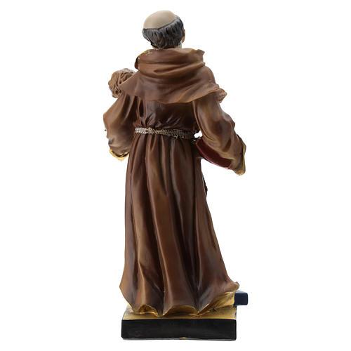 Statue St Antoine 20 cm résine 5