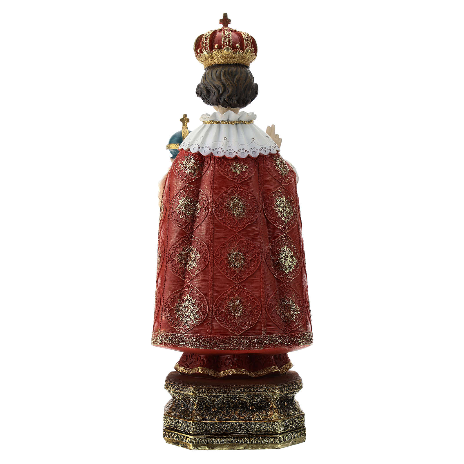 Estatua Niño de Praga resina 30 cm 4