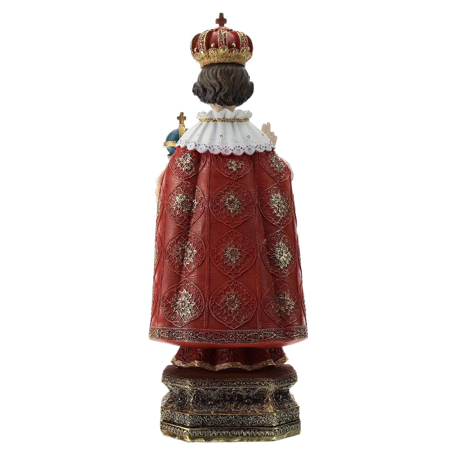 Statue Enfant Jésus de Prague résine 30 cm 4