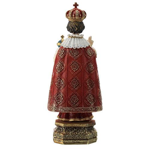 Estatua resina Niño de Praga 20 cm 5
