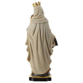 Statua Madonna del Carmine resina 20 cm s4
