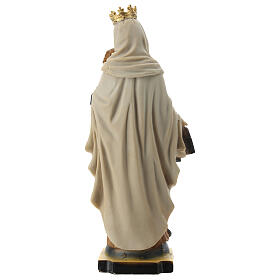 Statue Our Lady of Mount Carmel resin 20 cm s4
