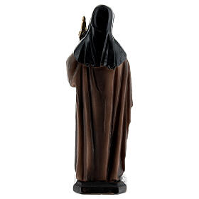 St. Clare of Assisi statue with monstrance, resin 12 cm s4