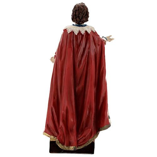 Saint Ephysius statue résine 20 cm 5
