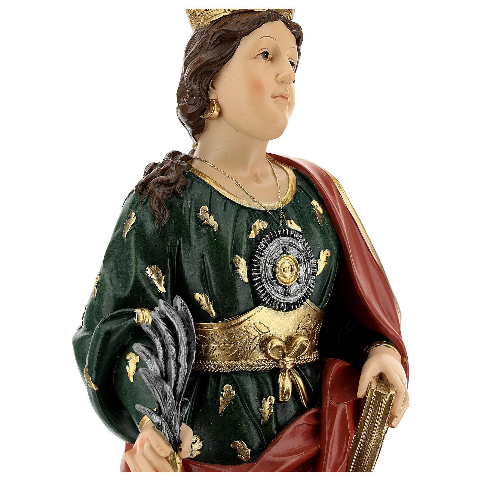 Bust of Saint Euphemia resin 28 cm 4