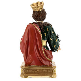 Busto Santa Eufémia resina 28 cm s6