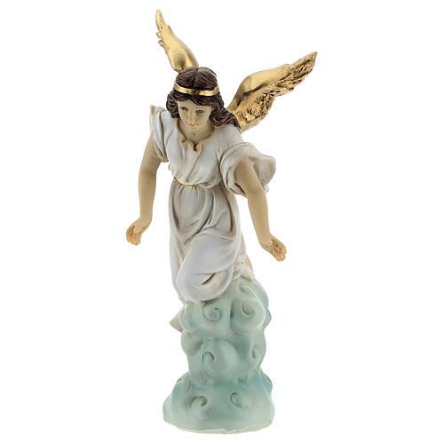 Set San José que duerme ángel resina 15 cm 7