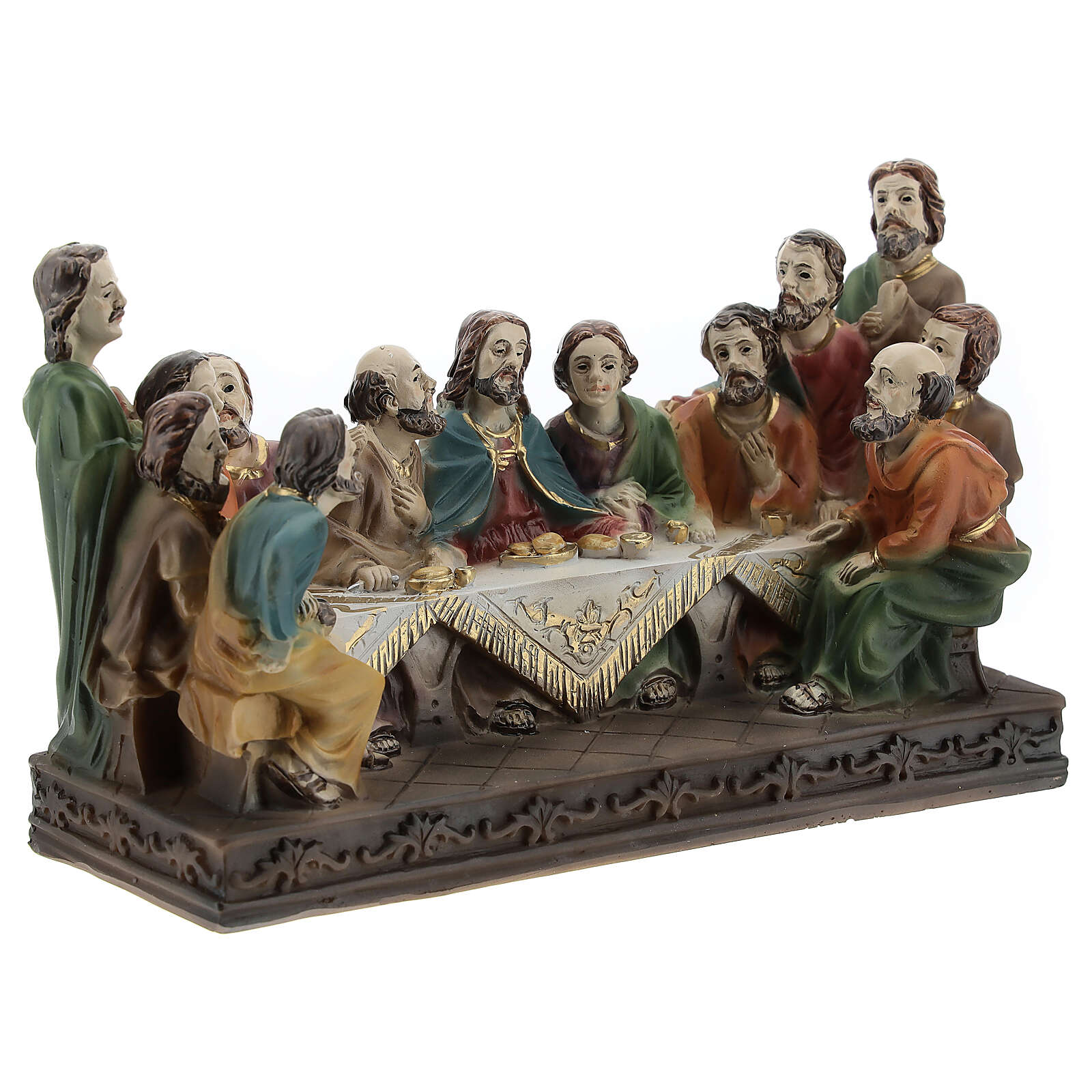 Last Supper resin composition 9x15x6.5 cm 4