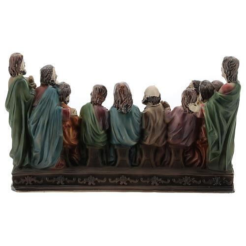 Last Supper statue in resin, 10x15x5 cm 5