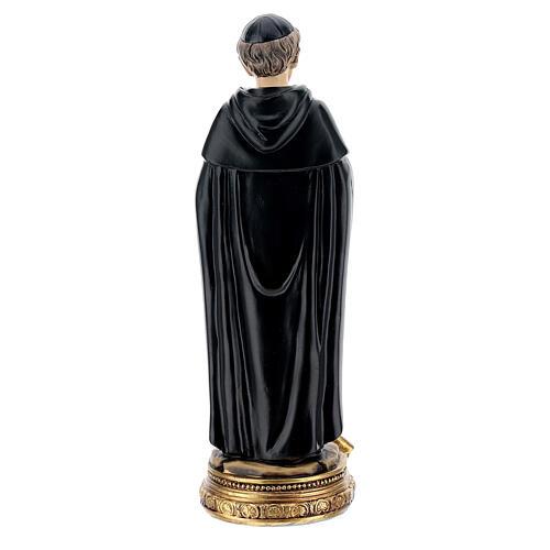 Saint Pérégrin de Forli statue résine 14 cm 4
