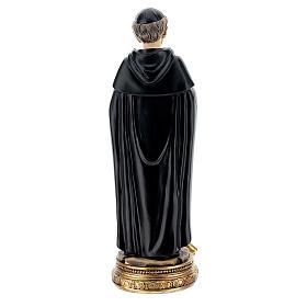 San Pellegrino Forlì statua resina 14 cm s4