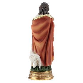 Jésus Bon Pasteur 12 cm statue résine s4