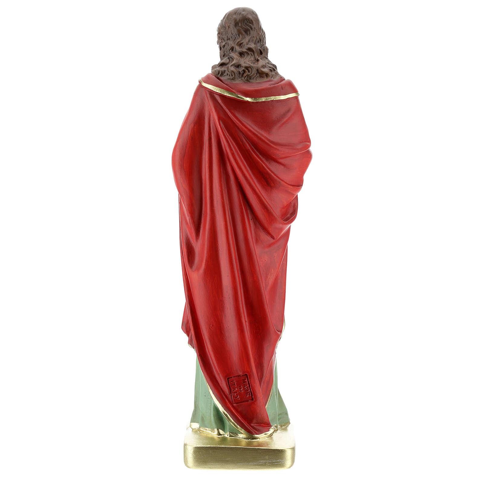 Chalk statue St. John the Evangelist 30 cm Arte Barsanti 4