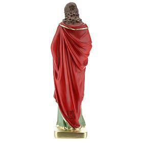 St John the Evangelist statue, in plaster 30 cm Barsanti s5