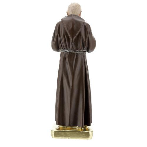 San Pio 30 cm statua gesso colorata a mano Barsanti 4