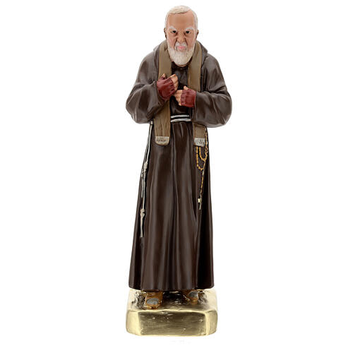 Statua Padre Pio 60 cm gesso dipinta a mano Barsanti 1