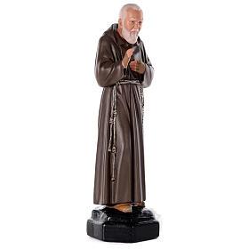 Padre Pio 80 cm gesso dipinto a mano Arte Barsanti s4