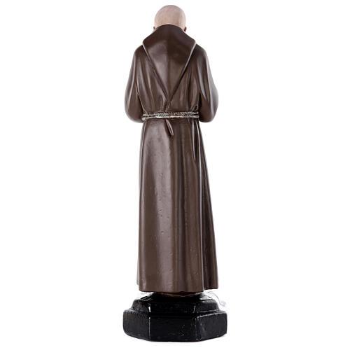 Padre Pio 80 cm gesso dipinto a mano Arte Barsanti 5