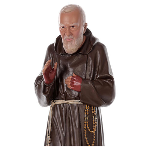 Estatua Padre Pío resina 80 cm pintada a mano Arte Barsanti 2