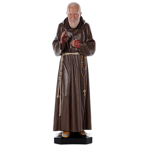 Padre Pio resin statue 32 in painted by hand Arte Barsanti 1