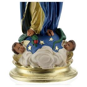Immaculée Conception 40 cm statue plâtre mains jointes Barsanti s8