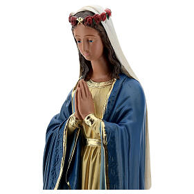 Madonna Immacolata mani giunte statua 50 cm gesso Barsanti s2