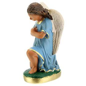 Statue anges en prière plâtre 15 cm Arte Barsanti s2