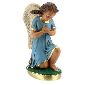 Statue anges en prière plâtre 15 cm Arte Barsanti s4