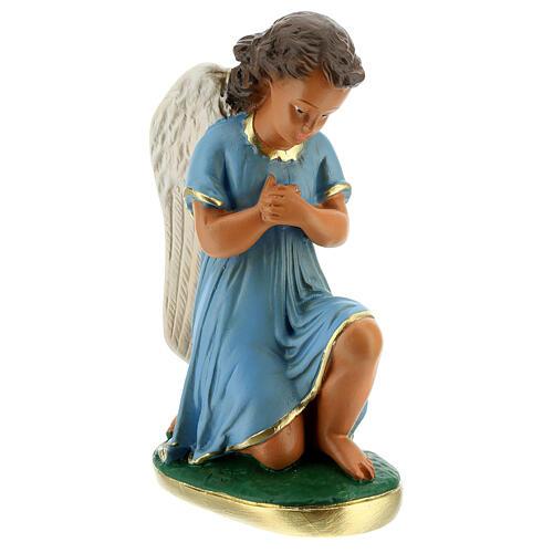 Estatua ángeles oración 20 cm yeso pintada a mano Arte Barsanti 5