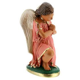 Statua angeli preghiera 20 cm gesso dipinta a mano Arte Barsanti s4