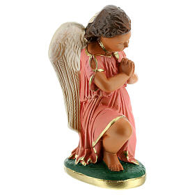 Angels praying statue 8 in hand-painted plaster Arte Barsanti s4