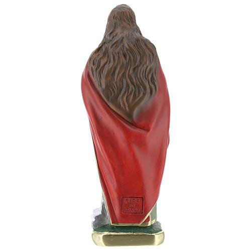 Estatua Santa Cecilia yeso 20 cm Arte Barsanti 4