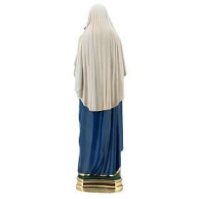 Virgen con Niño estatua yeso 60 cm pintada a mano Barsanti s7
