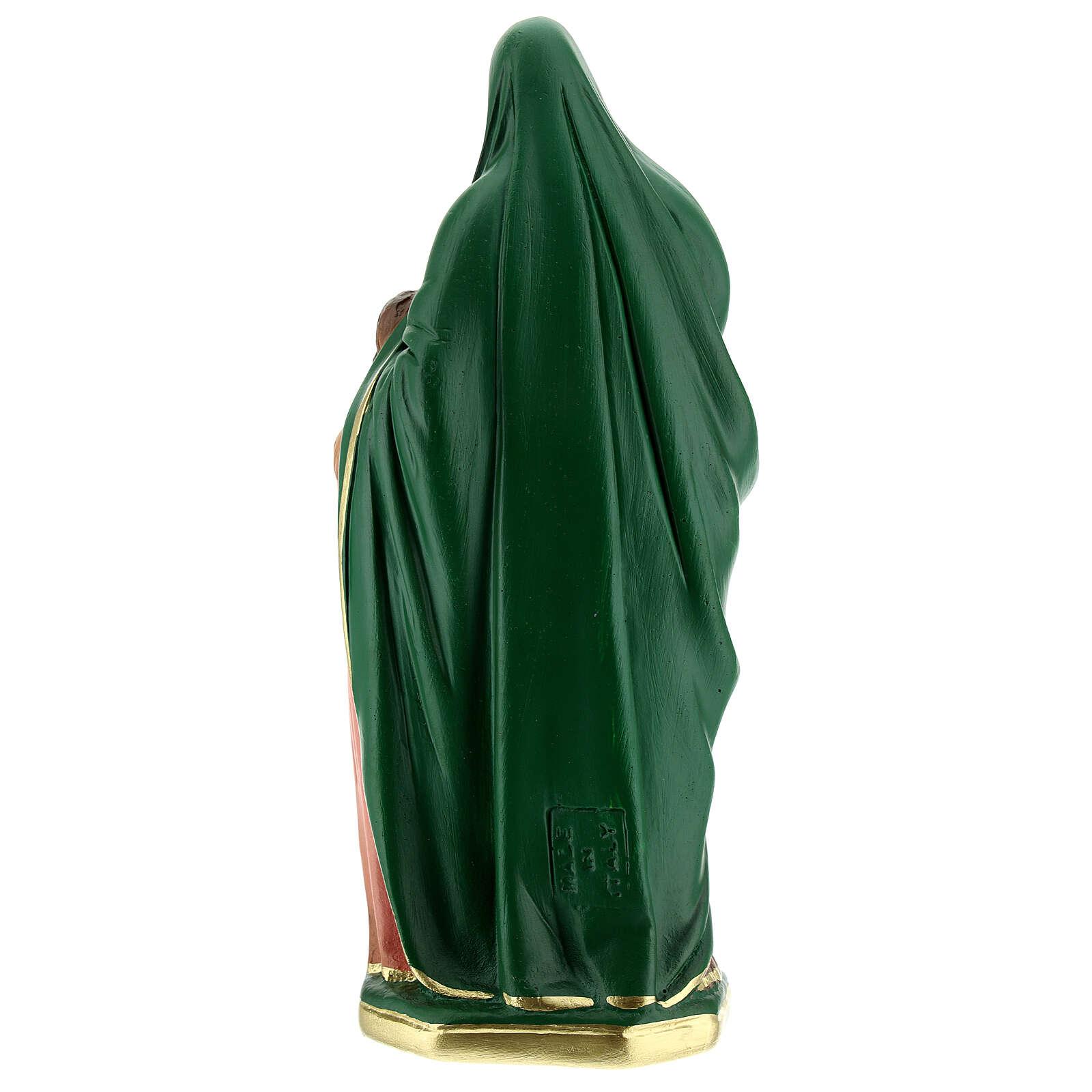 Santa Ana estatua yeso 20 cm Arte Barsanti 4