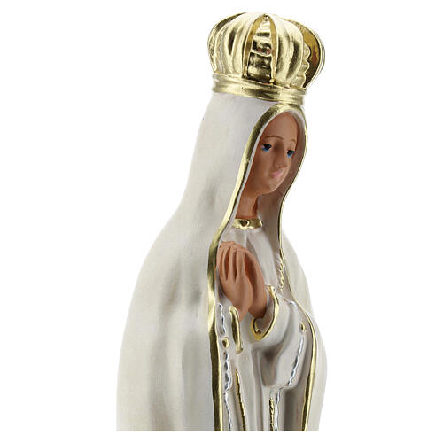 Our Lady of Fatima plaster statue 30 cm hand painted Arte Barsanti 4