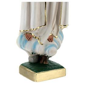 Estatua yeso Virgen Fátima 60 cm sin corona Barsanti s5