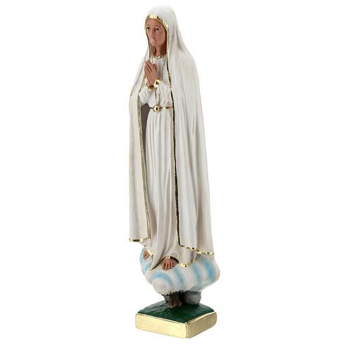 Estatua yeso Virgen Fátima 60 cm sin corona Barsanti 3