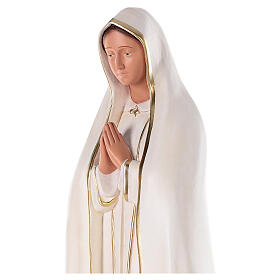 Statue of Our Lady of Fatima, 80 cm hand painted plaster Barsanti s2