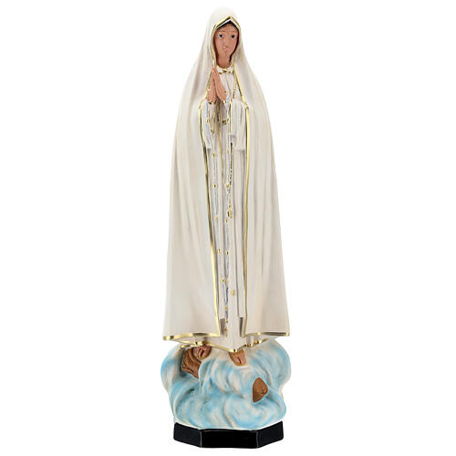 Lady of Fatima statue, 60 cm without crown painted resin Arte Barsanti 1