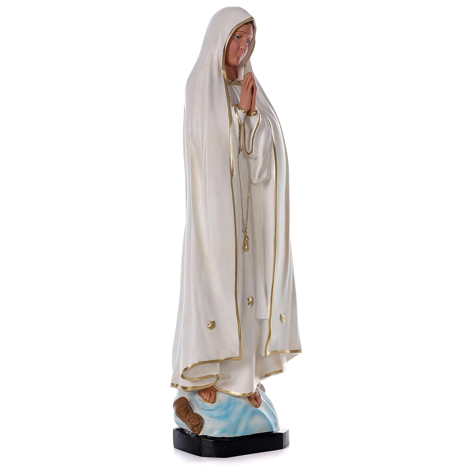 Madonna di Fatima resina 80 cm senza corona Arte Barsanti 4