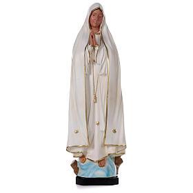 Madonna di Fatima resina 80 cm senza corona Arte Barsanti s1