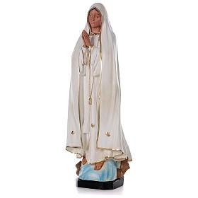 Madonna di Fatima resina 80 cm senza corona Arte Barsanti s3