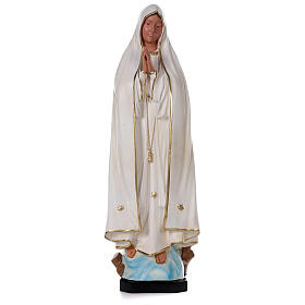 Imagem Nossa Senhora de Fátima sem coroa 80 cm resina Arte Barsanti