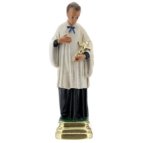 San Luigi Gonzaga statua gesso 20 cm Arte Barsanti 1